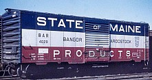 BAR AC&F Built 50 Ton Boxcar,