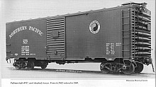 Northern Pacific 1937 AAR 40' Boxcar