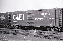 ACF Built Postwar 40' 50 ton C&EI Boxcar