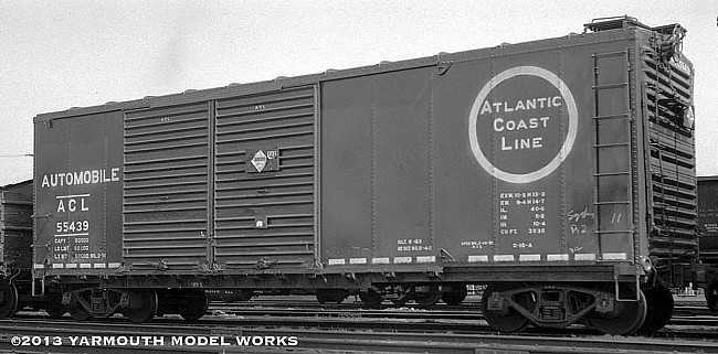 Atlantic Coast Line O-18a Double-Door Boxcar