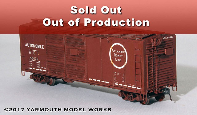 ACL O-16-B Rebuilt Auto Car HO scale resin model kit