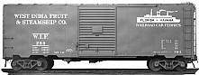 ACF Built Postwar 40' 50 Ton WIF Boxcar