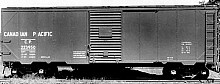 Canadian Pacific 40' War Emergency Boxcar