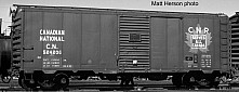 CNR '37 AAR 40' Boxcar, NSC-2 End and Raised Panel Roof