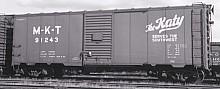ACF Postwar 40' 50 ton M-K-T Boxcar