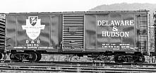 The D&H 40' 50 Ton Oneonta kit boxcar