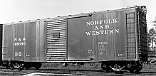 Norfolk & Western B-5 40' Boxcar, with Panel Roof