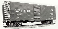HO Scale Wabash 88200-88699 12-Panel Welded Boxcar