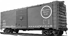 Rock Island ACF Built Postwar 40' 50-ton Boxcar