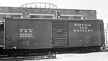 Norfolk & Western B-5 40' Boxcar, with Interior Carline Roof