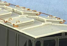 AC&F 1958 cu. ft. Covered Hopper Roof Type 3