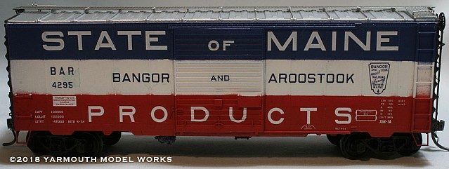 BAR AC&F Built 50 Ton Boxcar,